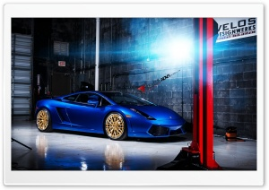 ADV1 Wheels Lamborghini Gallardo Ultra HD Wallpaper for 4K UHD Widescreen desktop, tablet & smartphone