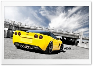 ADV.1 Corvette Z06 HD Wide Wallpaper for 4K UHD Widescreen desktop & smartphone