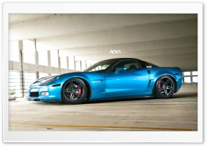 ADV.1 Corvette Z06 HD Wide Wallpaper for Widescreen