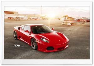 ADV.1 Ferrari F-430 HD Wide Wallpaper for 4K UHD Widescreen desktop & smartphone