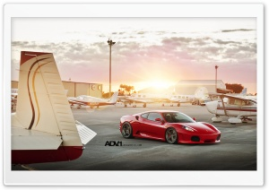 ADV.1 Ferrari F-430 HD Wide Wallpaper for Widescreen