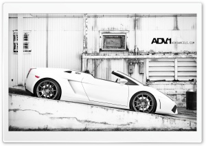ADV.1 Lamborghini Gallardo Spyder HD Wide Wallpaper for 4K UHD Widescreen desktop & smartphone