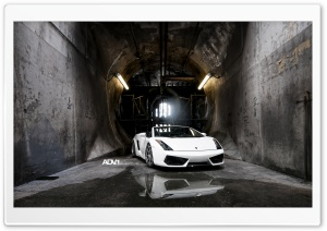 ADV.1 Lamborghini Gallardo Spyder HD Wide Wallpaper for Widescreen