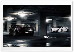 ADV.1 Lamborghini Spyders HD Wide Wallpaper for Widescreen