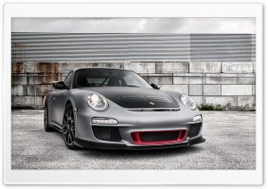 ADV.1 Matte Porsche GT3 RS HD Wide Wallpaper for Widescreen