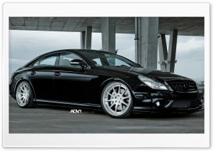 ADV.1 Mercedes CLS 55 HD Wide Wallpaper for Widescreen