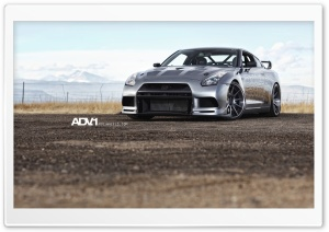 ADV.1 Nissan GTR HD Wide Wallpaper for 4K UHD Widescreen desktop & smartphone