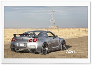 ADV.1 Nissan GTR HD Wide Wallpaper for Widescreen