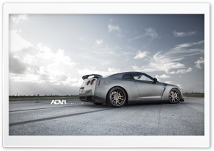 ADV.1 Nissan GTR R35 2 HD Wide Wallpaper for 4K UHD Widescreen desktop & smartphone