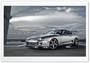 ADV.1 Toyota Supra HD Wide Wallpaper for 4K UHD Widescreen desktop & smartphone