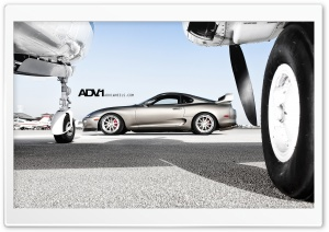 ADV.1 Toyota Supra HD Wide Wallpaper for Widescreen