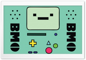 Adventure Time - Beemo HD Wide Wallpaper for Widescreen