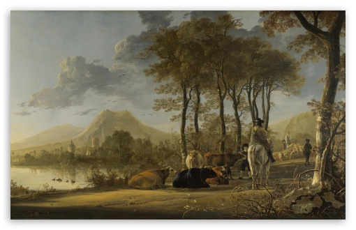 Aelbert Cuyp Painting HD wallpaper for Wide 16:10 5:3 Widescreen WHXGA WQXGA WUXGA WXGA WGA ; HD 16:9 High Definition WQHD QWXGA 1080p 900p 720p QHD nHD ; UHD 16:9 WQHD QWXGA 1080p 900p 720p QHD nHD ; Standard 4:3 5:4 3:2 Fullscreen UXGA XGA SVGA QSXGA SXGA DVGA HVGA HQVGA devices ( Apple PowerBook G4 iPhone 4 3G 3GS iPod Touch ) ; Tablet 1:1 ; iPad 1/2/Mini ; Mobile 4:3 5:3 3:2 16:9 5:4 - UXGA XGA SVGA WGA DVGA HVGA HQVGA devices ( Apple PowerBook G4 iPhone 4 3G 3GS iPod Touch ) WQHD QWXGA 1080p 900p 720p QHD nHD QSXGA SXGA ; Dual 16:10 5:3 16:9 4:3 5:4 WHXGA WQXGA WUXGA WXGA WGA WQHD QWXGA 1080p 900p 720p QHD nHD UXGA XGA SVGA QSXGA SXGA ;