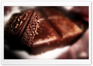 Aerated Chocolate HD Wide Wallpaper for Widescreen