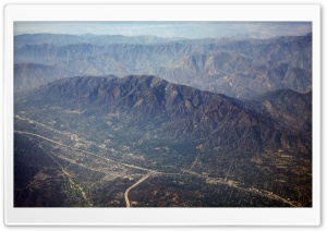 Aerial Photography Of Los Angeles HD Wide Wallpaper for 4K UHD Widescreen desktop & smartphone