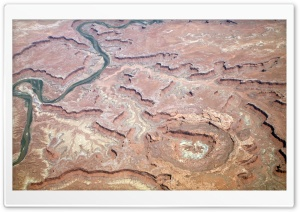 Aerial Photography Of The Canyonlands National Park HD Wide Wallpaper for Widescreen