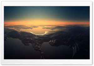 Aerial View HD Wide Wallpaper for Widescreen