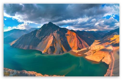 Download Aerial view of El Yeso HD Wallpaper