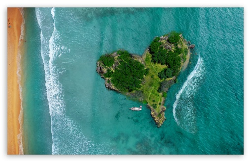 Aerial View Of Heart-Shaped Tropical Island ❤ 4K UHD Wallpaper for Wide 16:10 5:3 Widescreen WHXGA WQXGA WUXGA WXGA WGA ; 4K UHD 16:9 Ultra High Definition 2160p 1440p 1080p 900p 720p ; Standard 4:3 5:4 3:2 Fullscreen UXGA XGA SVGA QSXGA SXGA DVGA HVGA HQVGA ( Apple PowerBook G4 iPhone 4 3G 3GS iPod Touch ) ; iPad 1/2/Mini ; Mobile 4:3 5:3 3:2 16:9 5:4 - UXGA XGA SVGA WGA DVGA HVGA HQVGA ( Apple PowerBook G4 iPhone 4 3G 3GS iPod Touch ) 2160p 1440p 1080p 900p 720p QSXGA SXGA ; Dual 16:10 5:3 16:9 4:3 5:4 WHXGA WQXGA WUXGA WXGA WGA 2160p 1440p 1080p 900p 720p UXGA XGA SVGA QSXGA SXGA ;