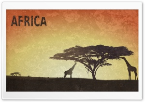 Africa HD Wide Wallpaper for Widescreen