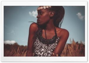 African Woman Ultra HD Wallpaper for 4K UHD Widescreen desktop, tablet & smartphone