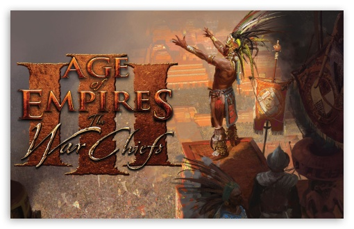 Age Of Empires The Warchiefs HD wallpaper for Wide 16:10 5:3 Widescreen WHXGA WQXGA WUXGA WXGA WGA ; HD 16:9 High Definition WQHD QWXGA 1080p 900p 720p QHD nHD ; Standard 3:2 Fullscreen DVGA HVGA HQVGA devices ( Apple PowerBook G4 iPhone 4 3G 3GS iPod Touch ) ; Mobile 5:3 3:2 16:9 - WGA DVGA HVGA HQVGA devices ( Apple PowerBook G4 iPhone 4 3G 3GS iPod Touch ) WQHD QWXGA 1080p 900p 720p QHD nHD ;