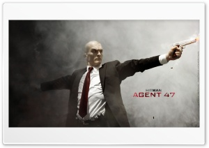 Agent 47 2015 HD Wide Wallpaper for Widescreen