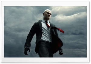 Agent 47 - Hitman: Absolution HD Wide Wallpaper for 4K UHD Widescreen desktop & smartphone
