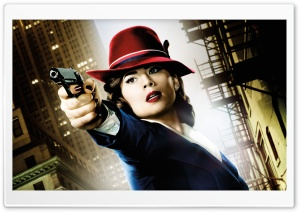 Agent Carter Hayley Atwell 2015 HD Wide Wallpaper for Widescreen