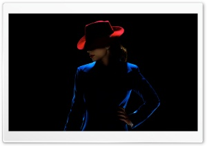 Agent Carter Red Hat HD Wide Wallpaper for Widescreen