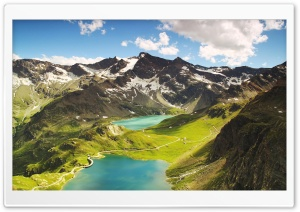 Agnel Lake, Ceresole Reale HD Wide Wallpaper for Widescreen