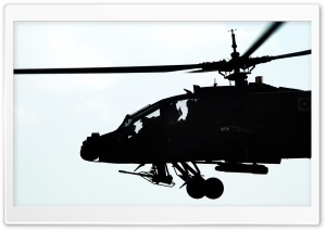 AH64 Apache Helicopter HD Wide Wallpaper for Widescreen