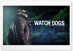 Aiden Pearce - Watch Dogs HD Wide Wallpaper for Widescreen