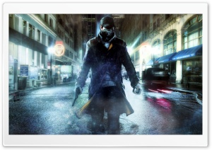 Aiden Pearce - WatchDogs HD Wide Wallpaper for Widescreen