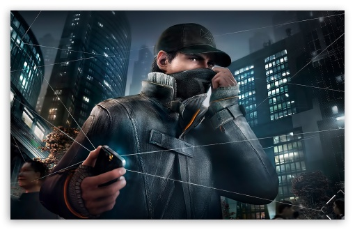 Watch Dogs High Resolution Games Hd Wallpaper For Mobile: Watch Dogs 4K HD Desktop Wallpaper For 4K Ultra HD TV