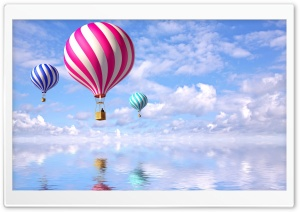 Air Balloons HD Wide Wallpaper for Widescreen