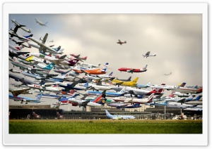 Air Traffic World HD Wide Wallpaper for 4K UHD Widescreen desktop & smartphone