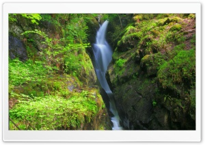 Aira Force Falls Glenridding Lake District UK HD Wide Wallpaper for 4K UHD Widescreen desktop & smartphone