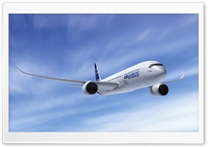 Airbus A350 HD Wide Wallpaper for Widescreen