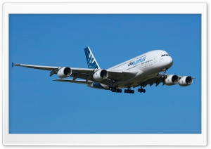 Airbus A380 HD Wide Wallpaper for Widescreen