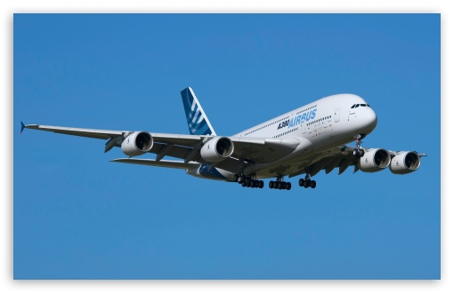Airbus A380 HD wallpaper for Wide 16:10 5:3 Widescreen WHXGA WQXGA ...