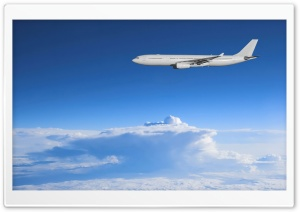 Airbus Above The Clouds HD Wide Wallpaper for Widescreen