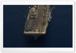 Aircraft Carrier HD Wide Wallpaper for Widescreen
