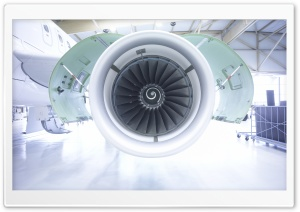 Aircraft Engine Ultra HD Wallpaper for 4K UHD Widescreen desktop, tablet & smartphone