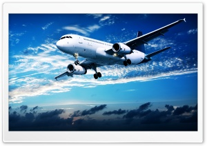 Aircraft Flight Ultra HD Wallpaper for 4K UHD Widescreen desktop, tablet & smartphone