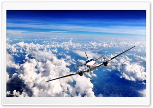 Aircraft In Flight HD Wide Wallpaper for Widescreen
