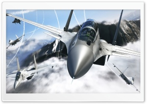 Aircrafts 3D HD Wide Wallpaper for Widescreen