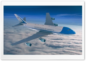 AirForce One HD Wide Wallpaper for Widescreen
