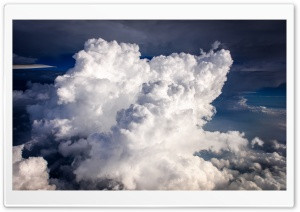 Airplane Cloud HD Wide Wallpaper for Widescreen