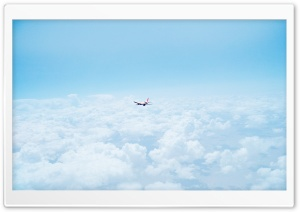 Airplane Flight HD Wide Wallpaper for 4K UHD Widescreen desktop & smartphone